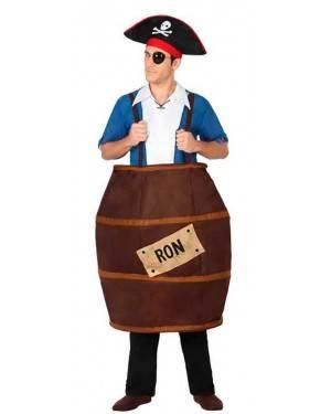 Costume Barile di Rum Adulto