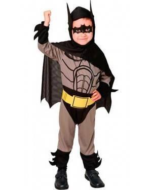 Costume Batman Eroe Bambino Tg. 2-4 Anni