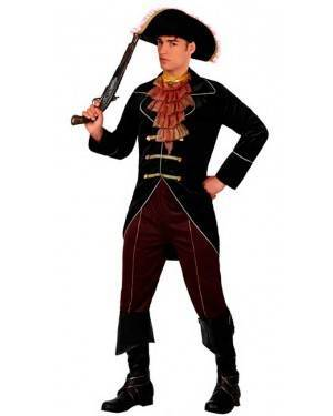 Costume Capitano Pirata Tg. M/L