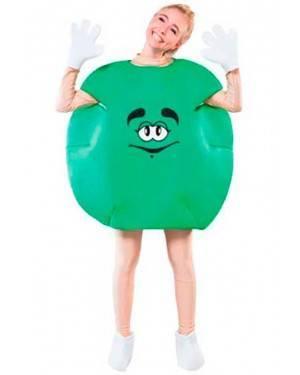 Costume Caramelle Verde. Tg. Unica