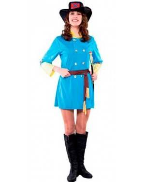 Costume Confederato Donna. Tg. Unica.