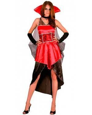 Costumi Contessa Dracula Adulto Taglia per Carnevale