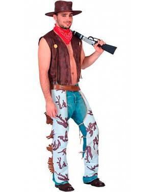 Costumi Cowboy Adulto Taglia unica per Carnevale