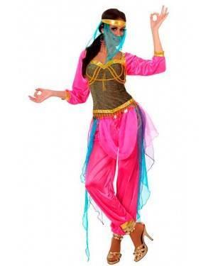 Costume Ballerina Araba Rosa