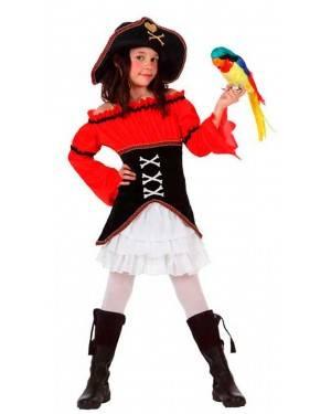 Costume Capitano Pirata Bambina