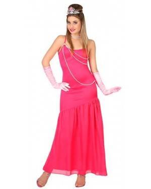 Costumi Dama Rosa Adulto per Carnevale