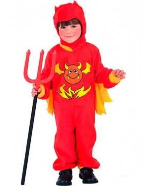 Costumi Diavoletto Bambino Taglia 4-12 per Carnevale