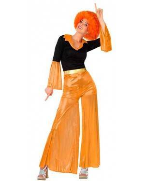 Costume Disco Arancia Donna