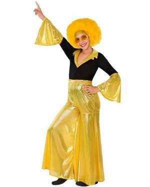 Costumi Disco Giallo Bambina per Carnevale