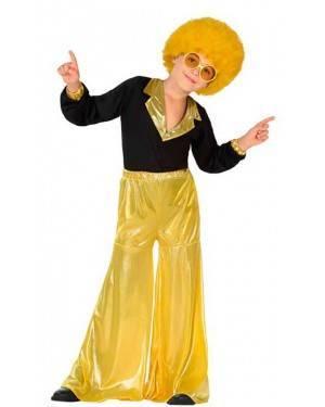 Costumi Disco Giallo Bambino per Carnevale