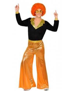 Costume Disco Orange Uomo