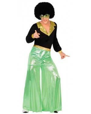 Costume Disco Verde Uomo