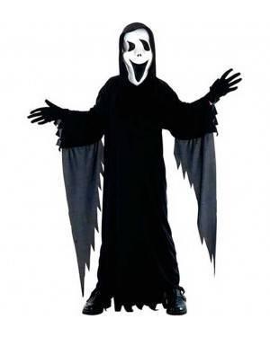 Costume Fantasma Scream. Bambino Tg. 7 a 12 Anni
