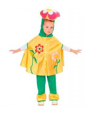 Costume Fiore Bambina Tg. 2-4 Anni