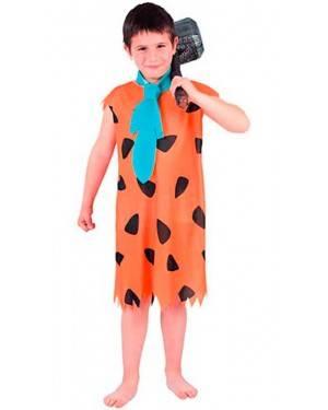 Costume Fred Flinstone Bambino Tg. 7 a 12 Anni