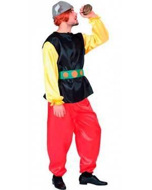 Costumi Gallico-Axterix Adulto Taglia unica per Carnevale