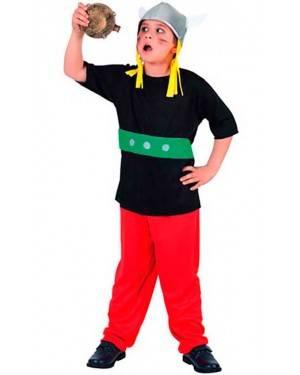 Costumi Gallico-Axterix Bambino Taglia 7-12 per Carnevale