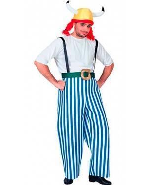 Costumi Gallico-Obelix Adulto Taglia unica per Carnevale