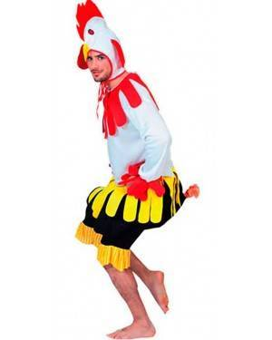 Costume Gallo Adulto Tg. Unica