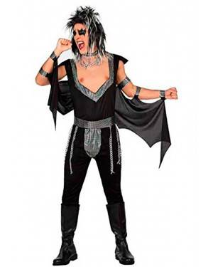 Costume Hard Rocker Adulto