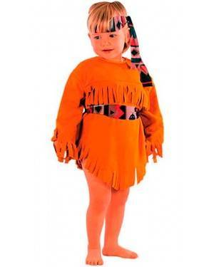 Costume Indiana Bambina Tg. 2-4 Anni