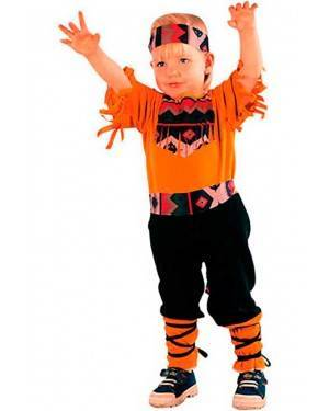 Costumi Indiano Bambino Taglia 2-4 anni per Carnevale