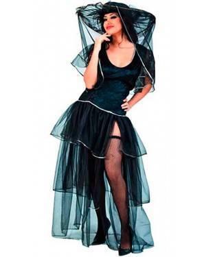 Costumi La Vedova Allegra Halloween Adulto per Carnevale