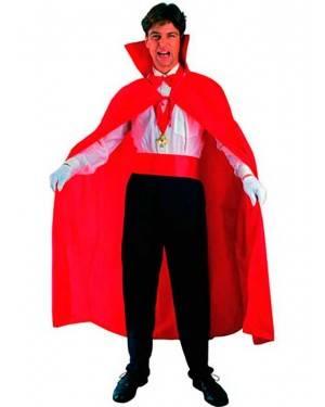 Costumi Mantello Vampiro Rosso Halloween per Carnevale