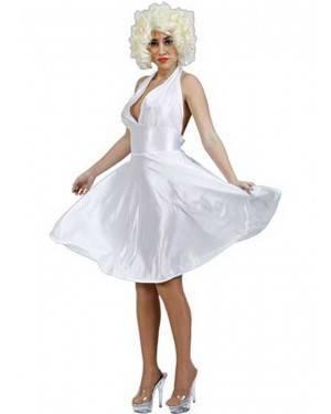 Costume Marilyn Adulto Tg. Unica