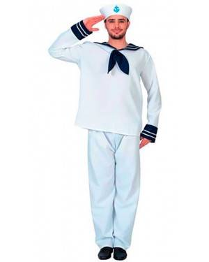 Costumi Marinaio Adulto Taglia unica per Carnevale