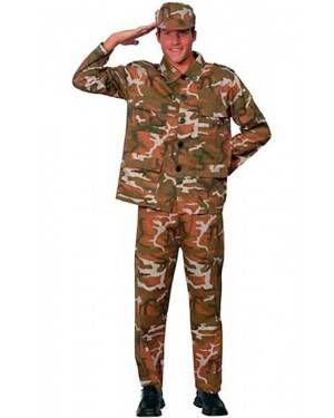 Costume Militare Adulto Tg. Unica