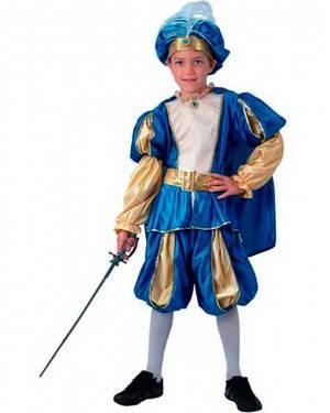 Costume Principe Azzurro Bambino Tg. 4 a 12 Anni