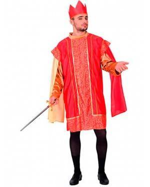Costume Principe Medievale. Adulto Tg. Unica