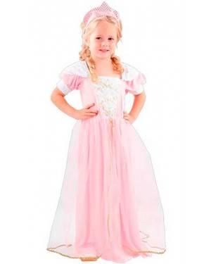 Costume Principessa Bambina Tg. 2-4 Anni
