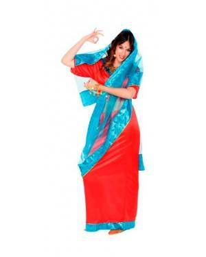 Costumi Ragazza Bolywood-Indu per Carnevale