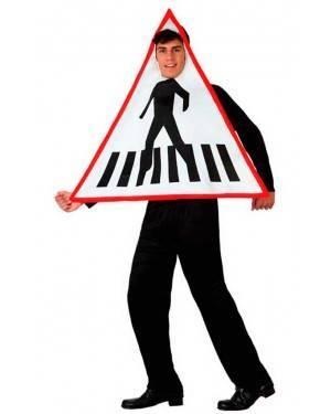 Costumi Segnale Stradale Taglia M/L per Carnevale