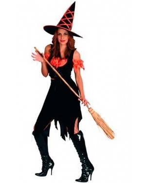 Costumi Strega Halloween Adulto Taglia unica per Carnevale