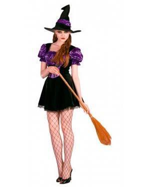 Costumi Strega Viola Adulto Taglia unica per Carnevale