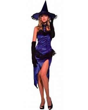 Costume Strega Viola Adulto Tg. Unica