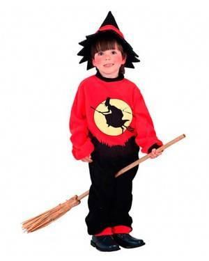 Costumi Stregone Bambino Taglia 7-12 anni per Carnevale