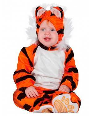 Costumi Tigre Taglia Neonati per Carnevale