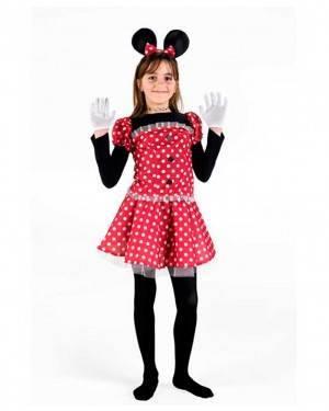 Costumi Topolina Bambina per Carnevale