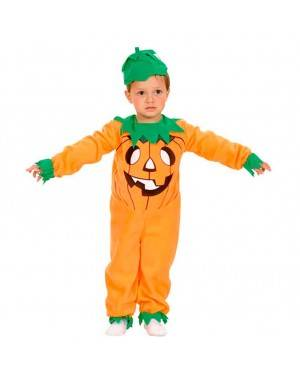 Costumi Zucca Bambini Halloween Taglia 2-4 per Carnevale