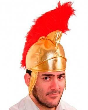 Elmo Romano in Tessuto Per Adulti per Carnevale
