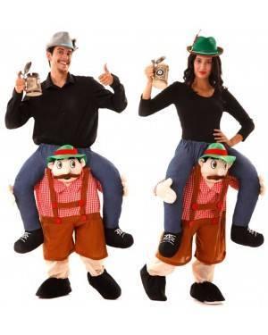 Costume in spalla del Tirolese Carry Me per Carnevale | La Casa di Carnevale