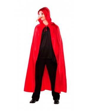 Mantello Veneziano Rosso Adulti per Carnevale