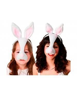 Maschera Coniglietto per Carnevale