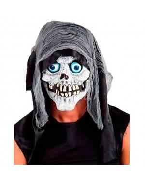 Maschera Morte con Cappuccio in Lattice