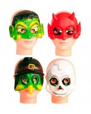 Maschera per Bambini da Halloween in Lattice