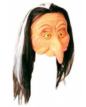 Maschera Strega Grande Naso Maschera in Lattice Per Adulti